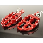 ZAP TechniX E-Peg Footpegs Beta RR 2-Stroke/4-Stroke 20- red