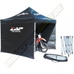 Zap Racing tent with 3 sidewalls black