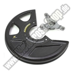 Z-Carbon Front Disc Guard Kawasaki 275mm