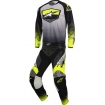 Alpinestars Youth Racer Supermatic Anthracite-Yellow Fluo-Light Grey Kids 2017