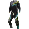 Alpinestars Techstar Factory Black-Teal-Yellow Fluo 2017 SALE