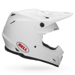 Bell Moto-9 MIPS Helm Solid White 2018