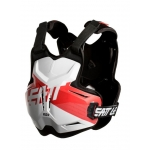 Leatt Chest Protector 2.5 Rox white-red 2019