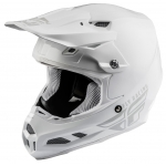 Fly Racing F2 Carbon MIPS Helm Solid White