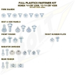 Bolt Motorcycle Hardware Full Plastics Fastener Kit Honda CRF 250R 14-17, 450R 13-16