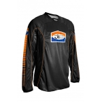JT Racing Shirt schwarz-orange Back-in-Black S # SALE