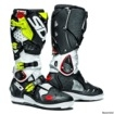Sidi Crossfire 2 SRS Boots White-Black-Fluo Yellow #SALE