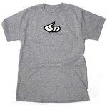 6D T-Shirt Logo grey