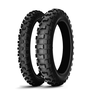Michelin Starcross MS3 Junior - For 50cc, 65cc, and 85cc motocross bikes, as well as pit bikes, on mixed to soft terrains