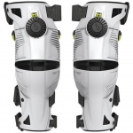 Mobius X8 Knee Braces White-Acid Yellow