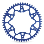 Moto-Master Rear Sprocket Alu KTM 85 SX 04-, Husqvarna TC 85 14- (428) blue
