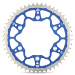 Moto-Master Rear Sprocket Fusion TM 2-Stroke 03-, 4-Stroke 02- (520) blue
