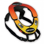 Ortema ONB Neck Brace V3.0 - Decal orange-yellow