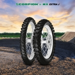 Pirelli Scorpion™ MX Extra J Minicross - Mini-Cross sizing for Future Champions