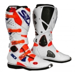 Sidi Crossfire 2 Stiefel Fluo Orange-White-Blue