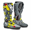 Sidi Crossfire 2 SRS Stiefel Black-Grey-Fluo Yellow