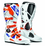 Sidi Crossfire 2 SRS Stiefel Fluo Orange-White-Blue
