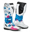 Sidi X-3 Lei Stiefel Pink-White-Light Blue Ladies
