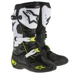 Alpinestars New Tech 10 Stiefel Black-White-Yellow