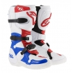 Alpinestars Tech 6S Stiefel White-Blue-Red Kids 2016 SALE