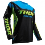 Thor Fuse™  Jersey Propel Black-Lime Spring 2017 XL # SALE