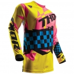 Thor Pulse™ Jersey Louda Yellow-Pink Spring 2017 M # SALE