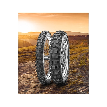 Metzeler Unicross - All-terrain motocross tyre, developed for excellent performance covering a large spectrum of off road surfaces