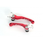 ZAP TechniX Competition Klapphebelsatz Honda CRF 250R/450R 04-06 red